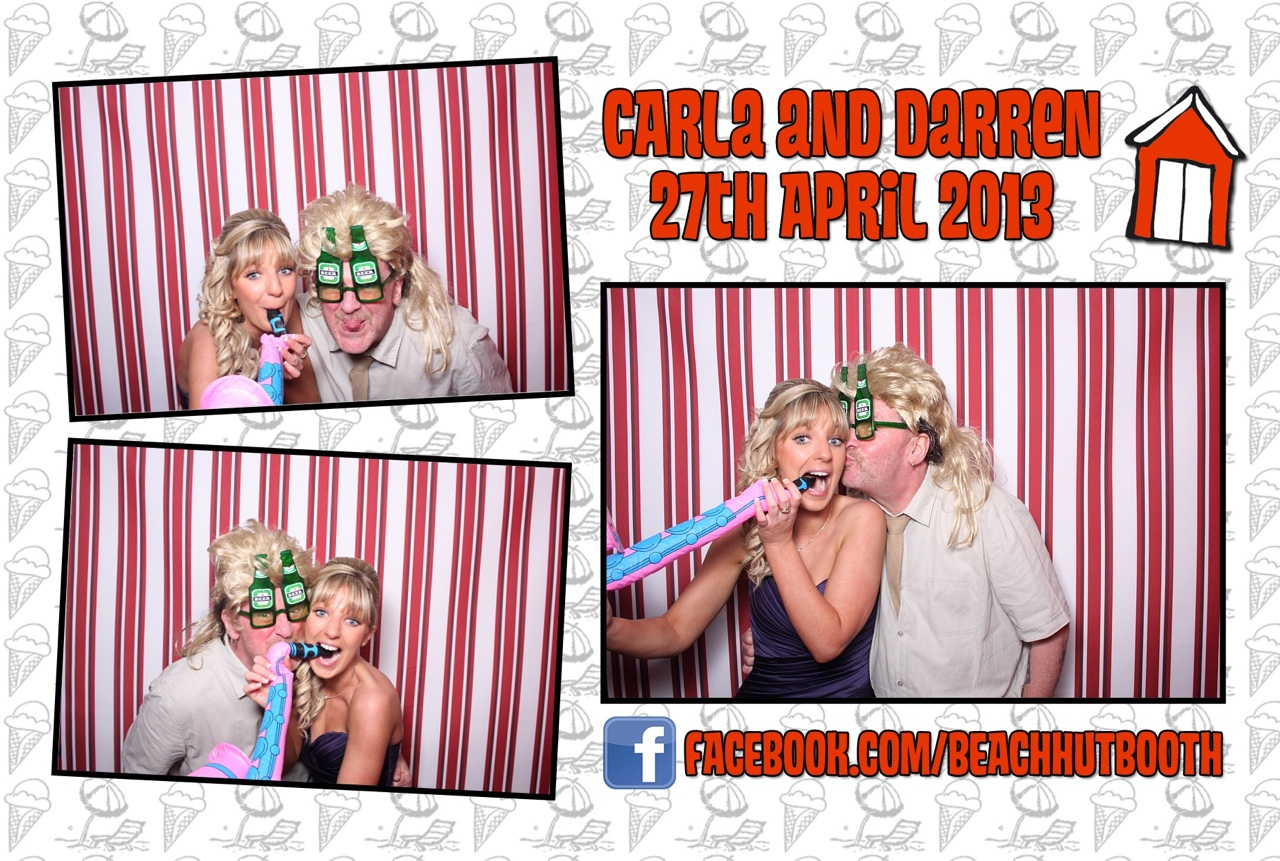 North Devon Photobooth | Wedding | Carla and Darren