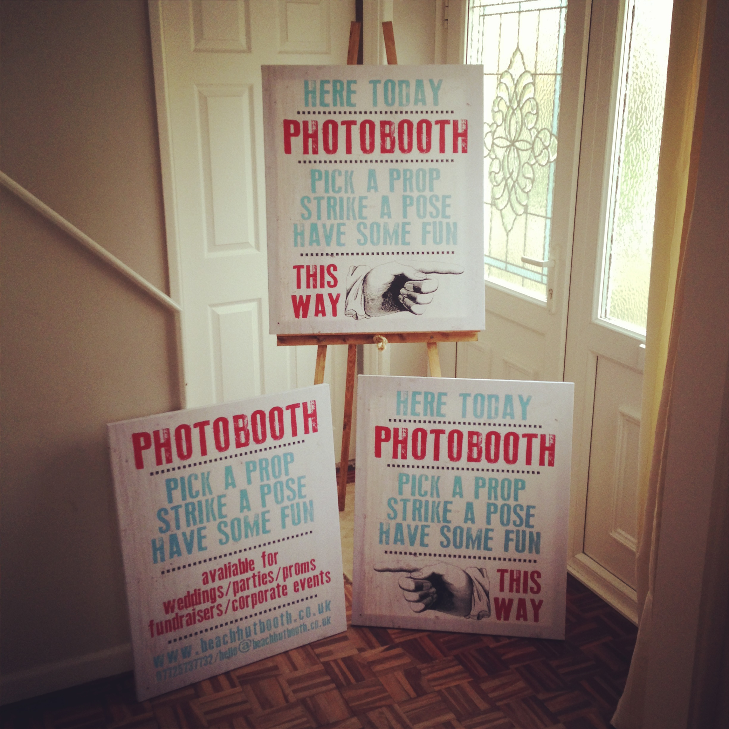 Photobooth Signs | North Devon Photobooth Hire