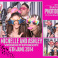 Barnstaple wedding photobooth