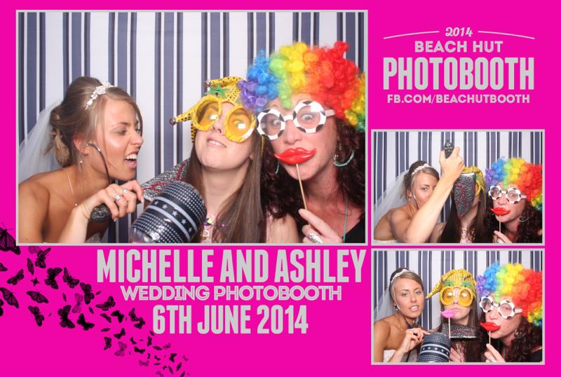 Barnstaple wedding photobooth